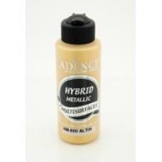 CADENCE HYBRID metál  akrilfesték 70ml H800 Metallıc Gold